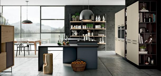 arredamento casa Cucina con isola moderna