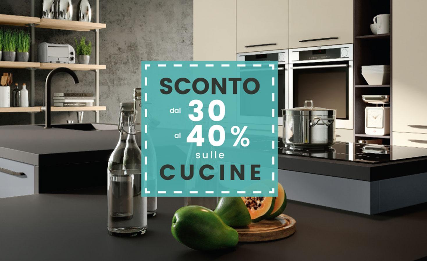 Promozione - 30/40 cucine con sfondo cucine - Pensarecasa