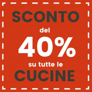 Homepage bollo promo 40% cucine