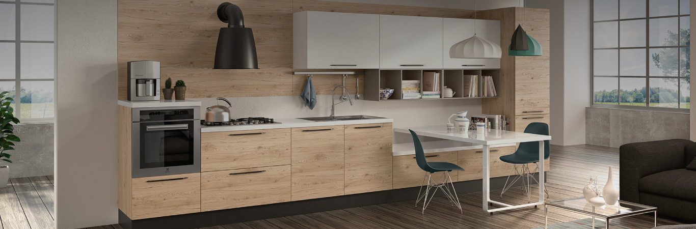 Beautiful cucine lineari moderne ideas ideas design for Cucine lineari in offerta