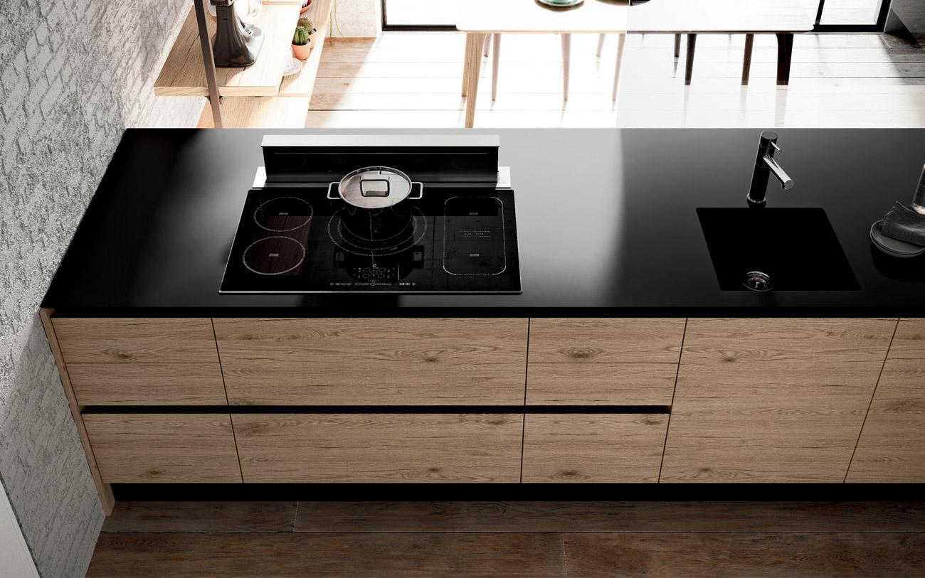Miglior Materiale Per Top Cucina. Cucina In Stile In Stile Moderno ...