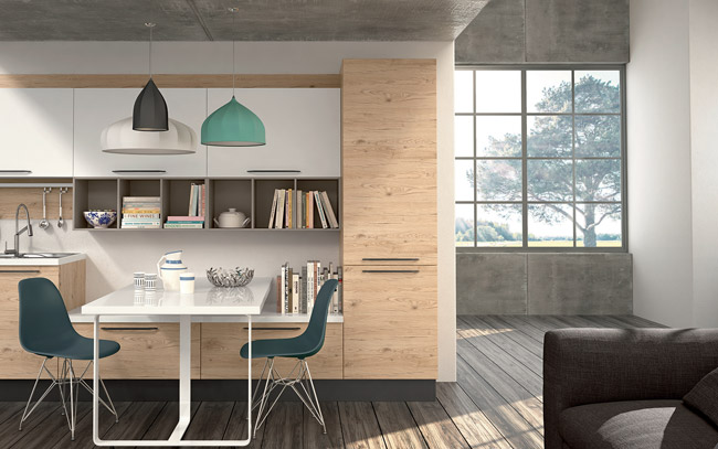 Pensarecasa il bello di arredare cucine lineari moderne