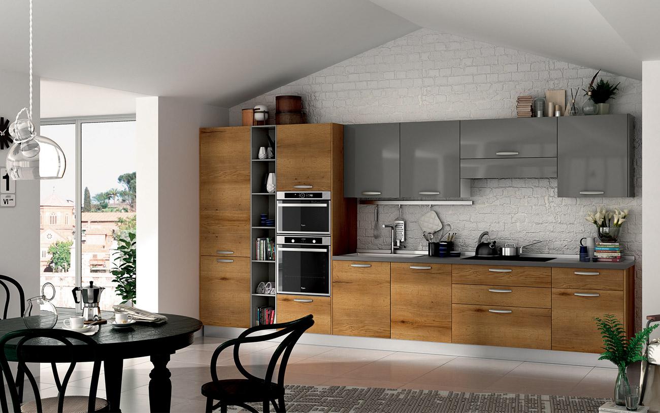 Cucine moderne lineari pensarecasa il bello di arredare