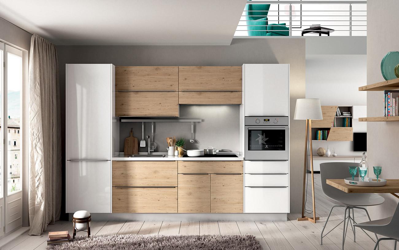 Cucine lineari il parere dei nostri designer pensarecasa - Comporre cucina ...