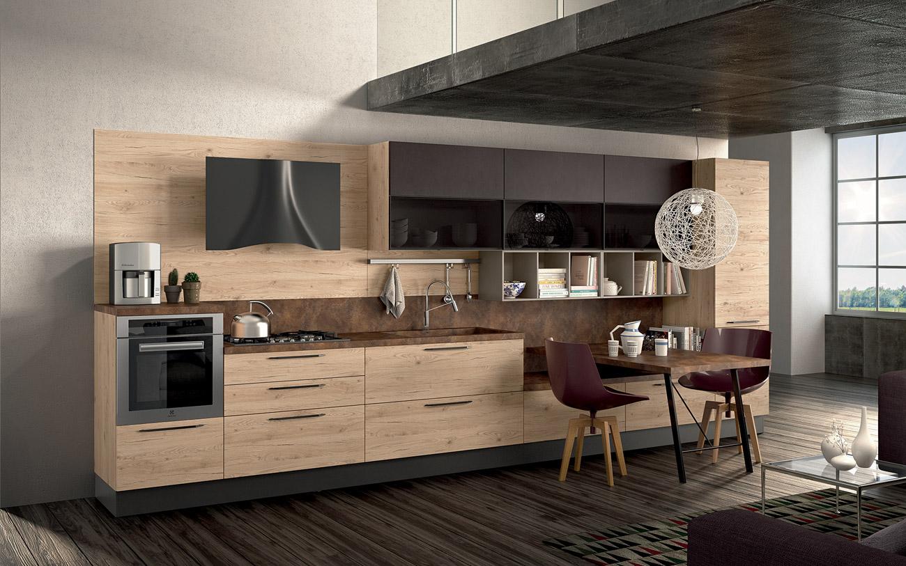 Cucine moderne lineari | Pensarecasa: Il Bello di Arredare