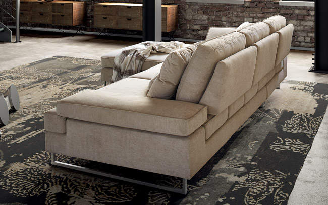 Luis divano in tessuto