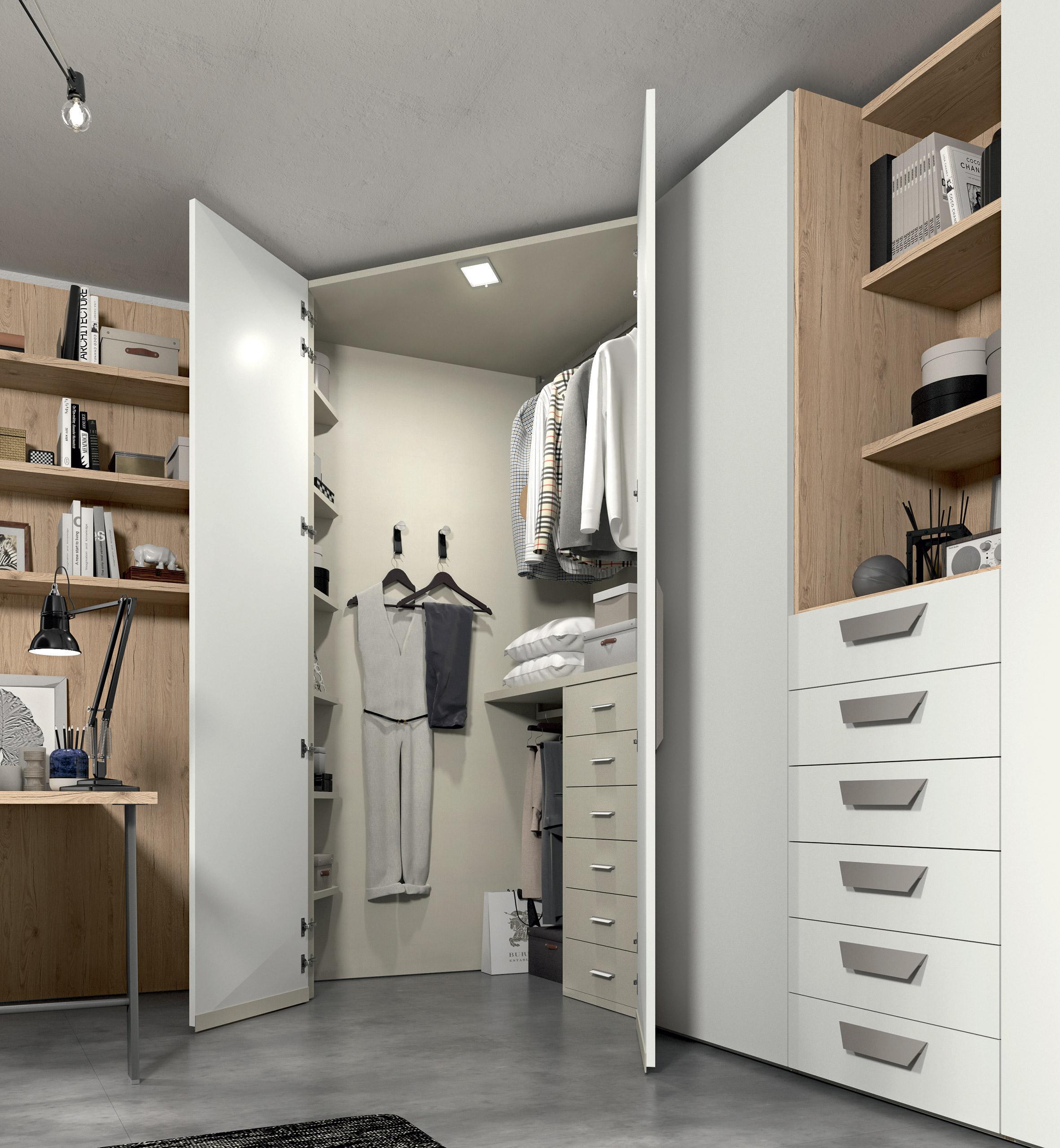 Armadio come scegliere quello ideale per te pensarecasa - Moduli per cabina armadio ...