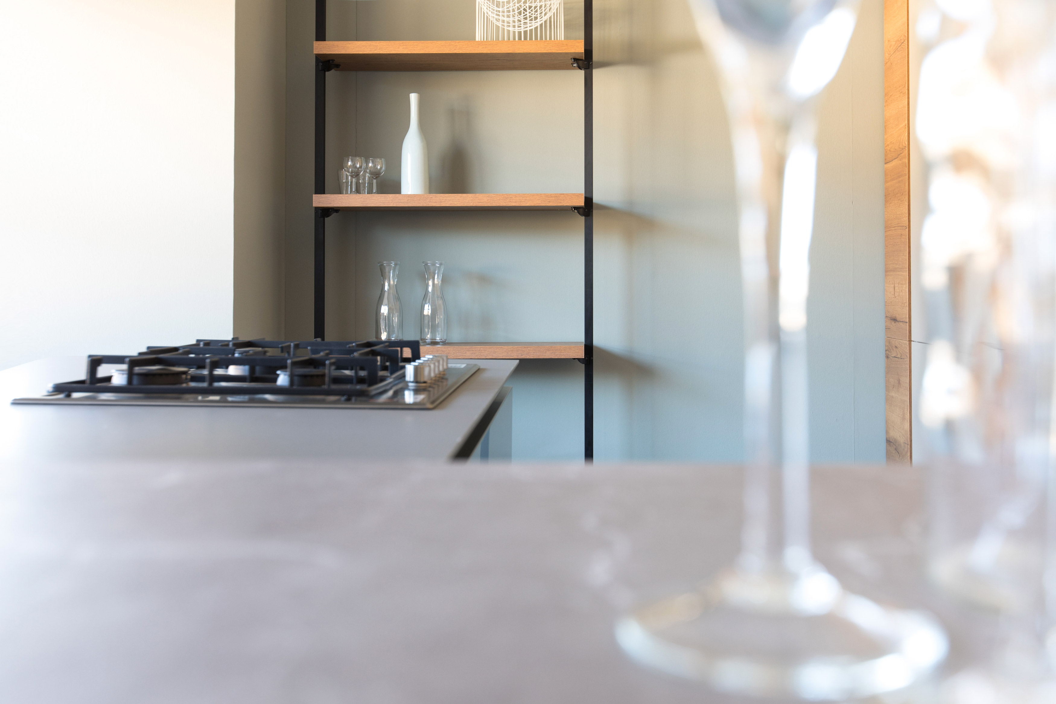 Rinnovare casa - dispensa a giorno e piano cottura