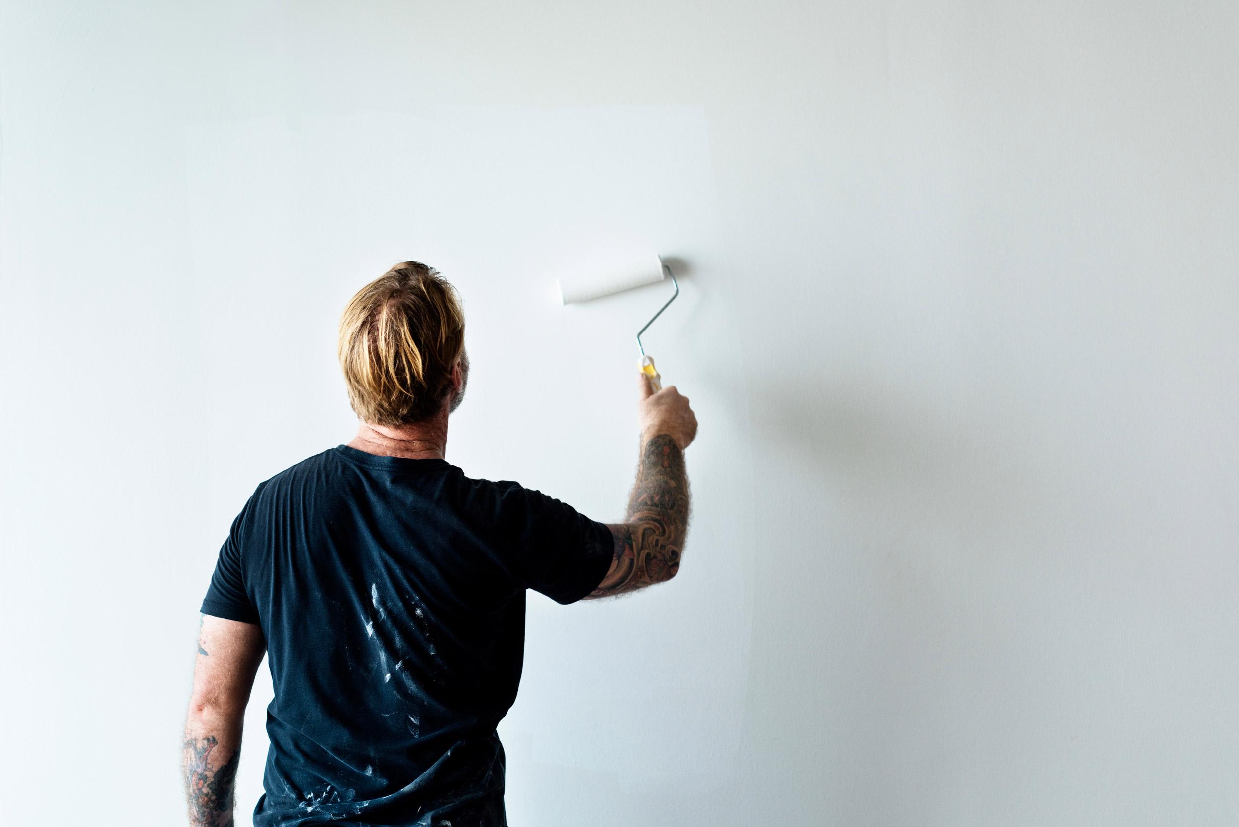 Rinnovare casa - pitturare pareti