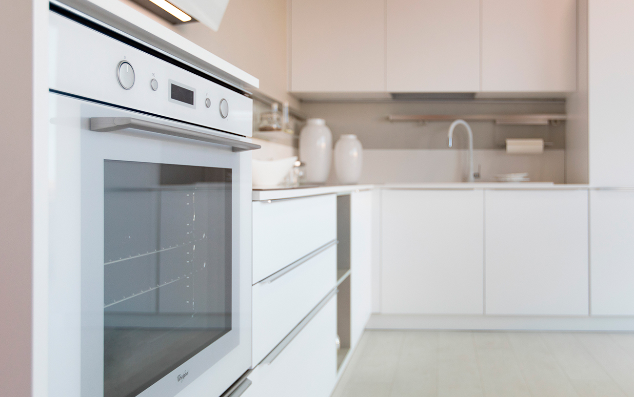 Cucina moderna bianca la soluzione di sicuro successo pensarecasa - Cucina tutta bianca ...