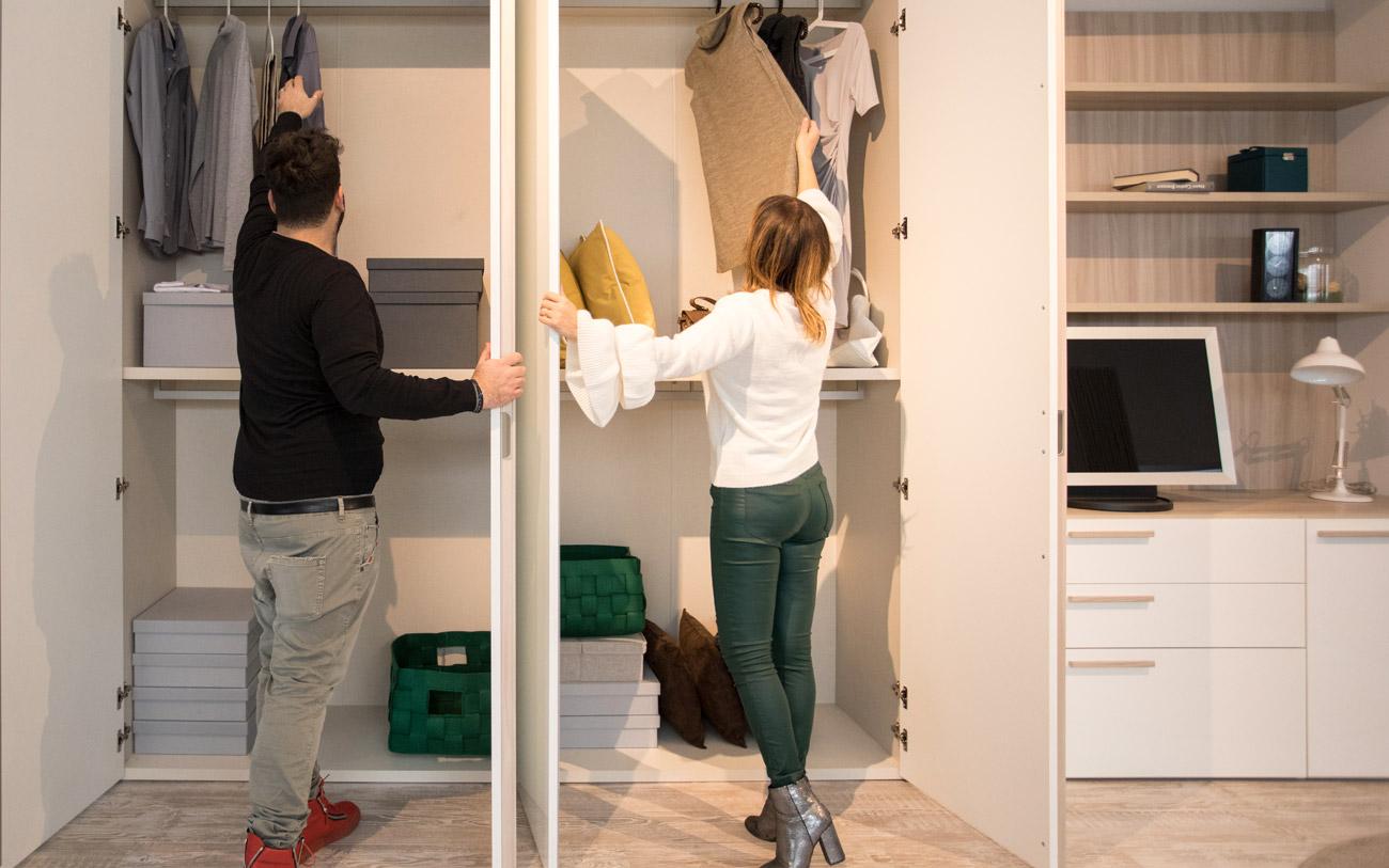 arredare prima casa - armadio