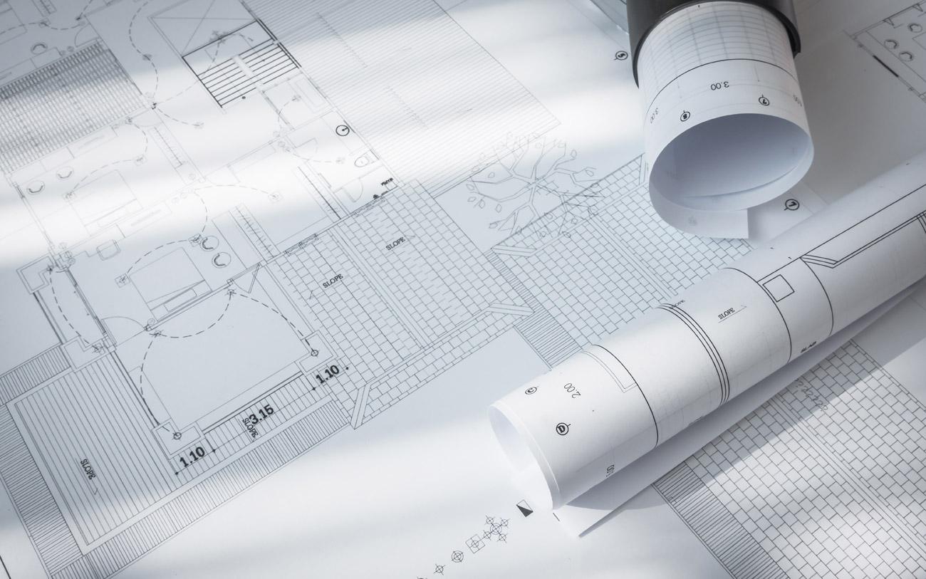 come arredare prima casa - piantina per progettazione spazi