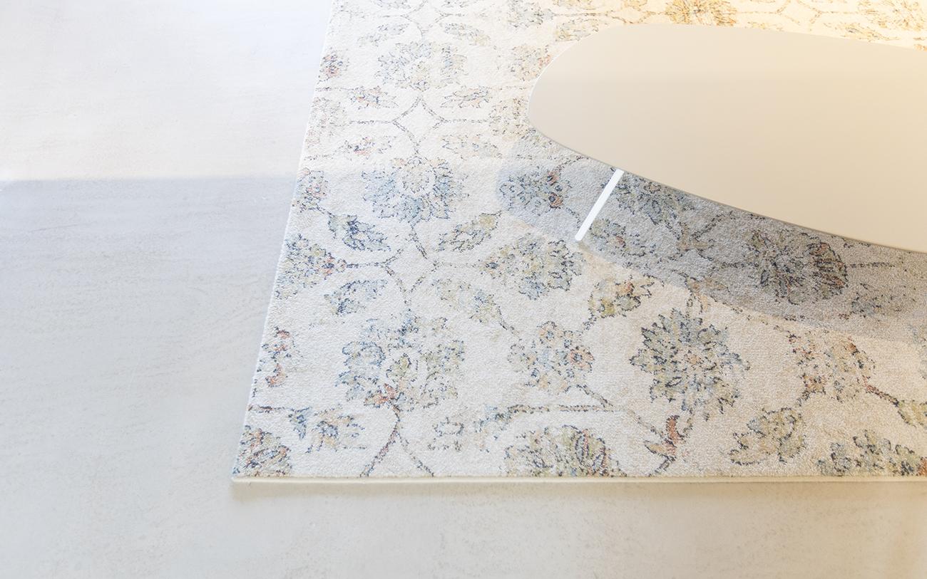 arredare soggiorno piccolo - tappeto