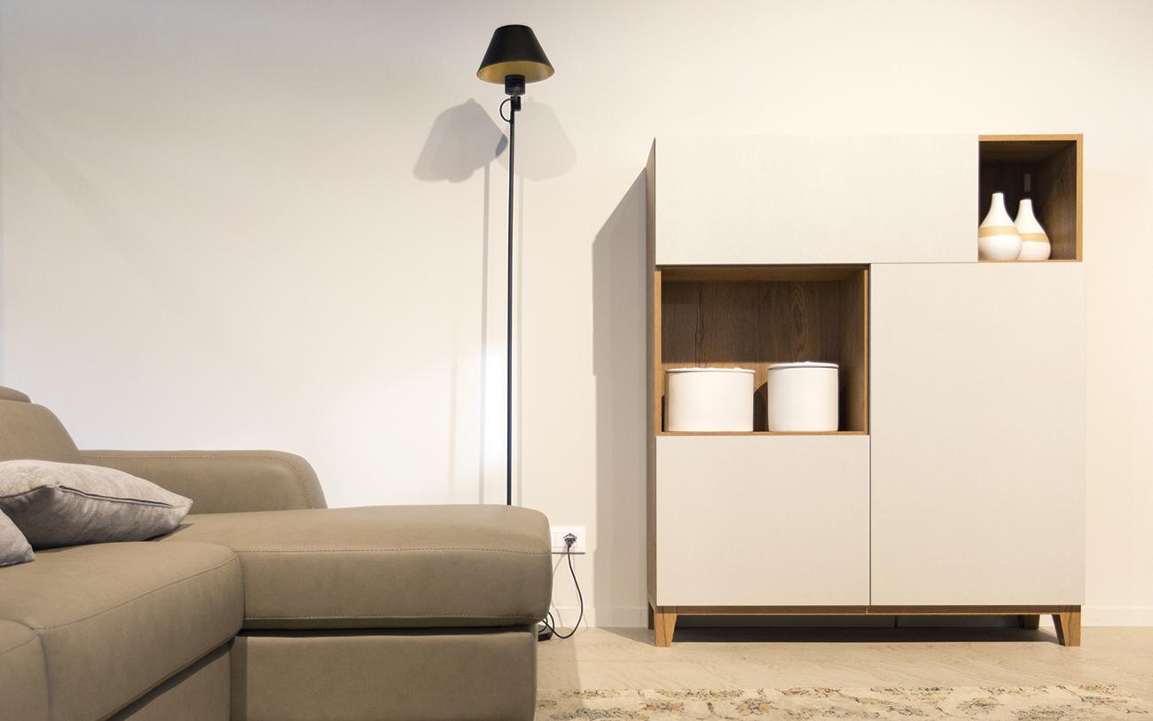 arredare_soggiorno piccolo - madie personalizzate