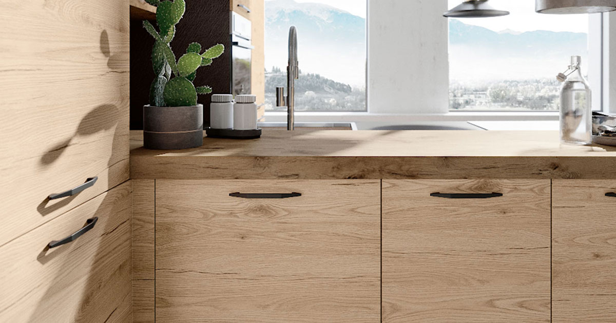 Cucine Moderne In Rovere Chiaro.Cucine Moderne Le Tre Finiture Di Tendenza Nel 2018