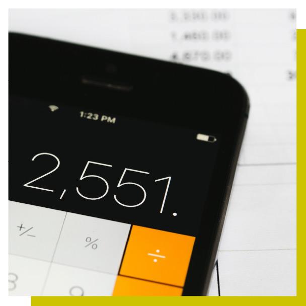 Vantaggi - Calcolatrice