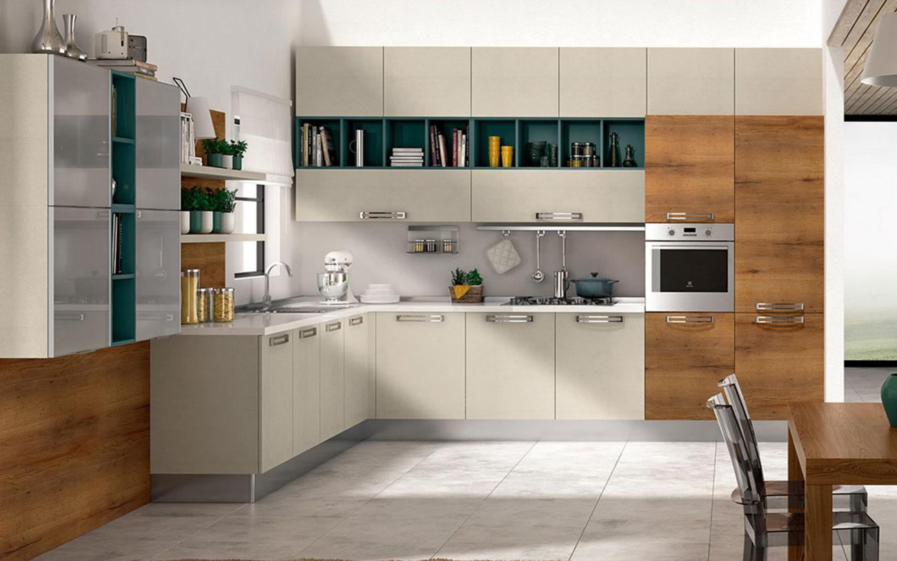 Cucina angolare consigli per la progettazione perfetta pensarecasa - Come comporre una cucina ...