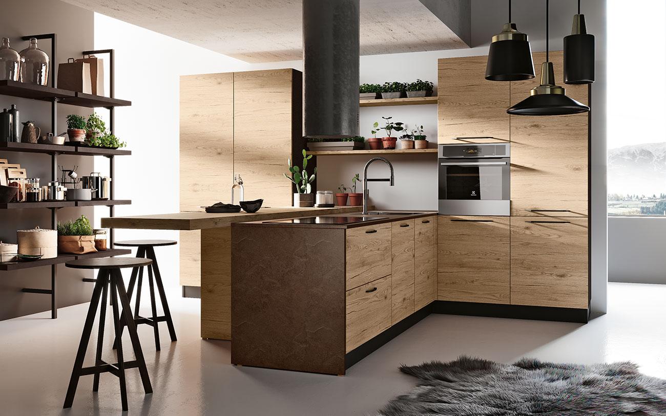 Cucina la guida completa all 39 acquisto pensarecasa - Cucine moderne penisola ...