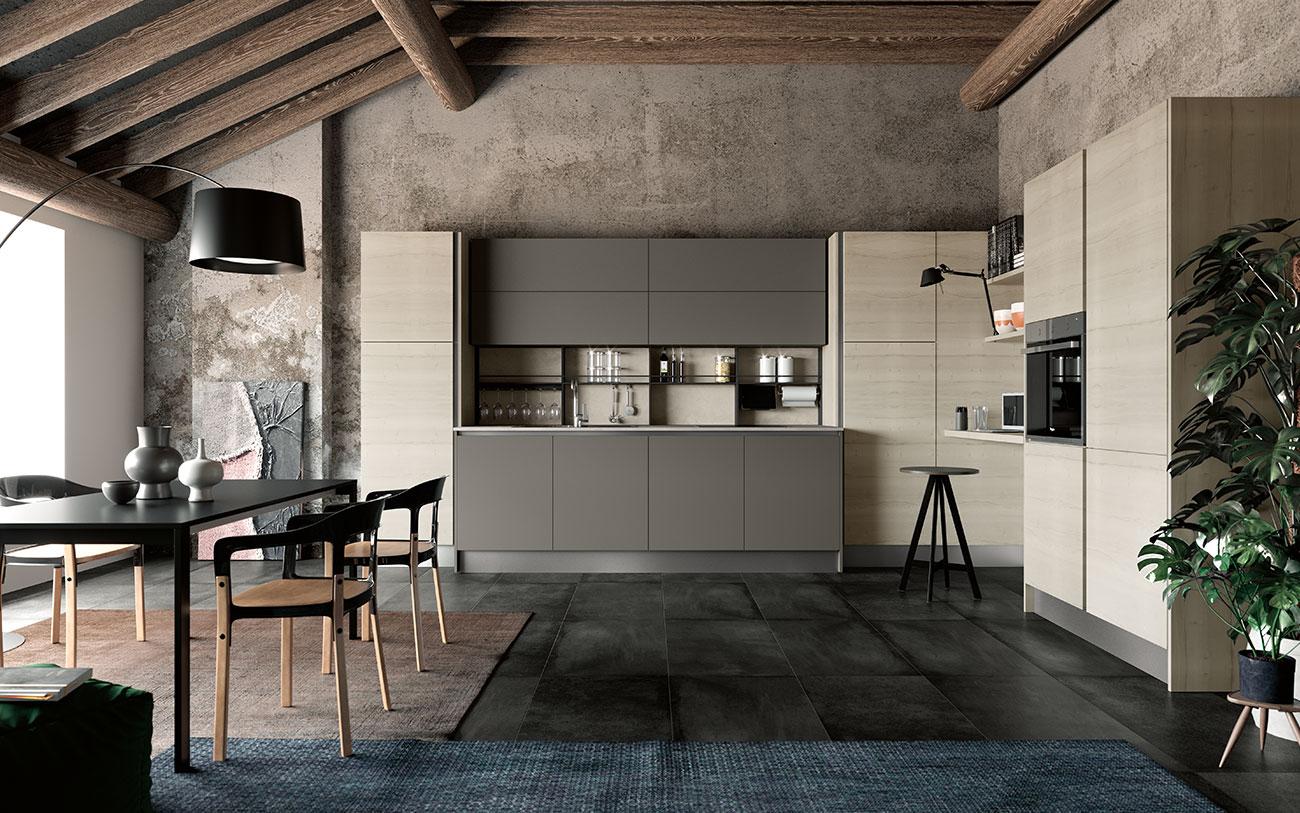 Cucina angolare di design