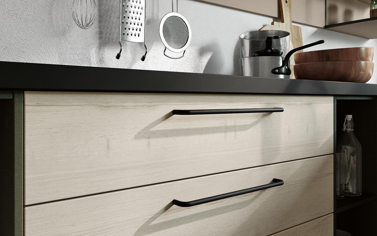 Arredare Cucina moderna maniglia seconda opzione