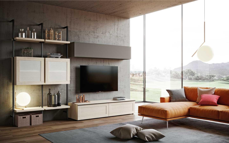 Arredamento soggiorno moderno qsm303 pensarecasa for Arredamento soggiorno moderno