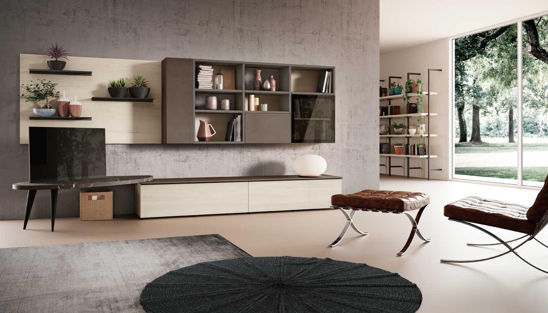 Arredamento soggiorno come scegliere la soluzione ideale for Arredare parete soggiorno