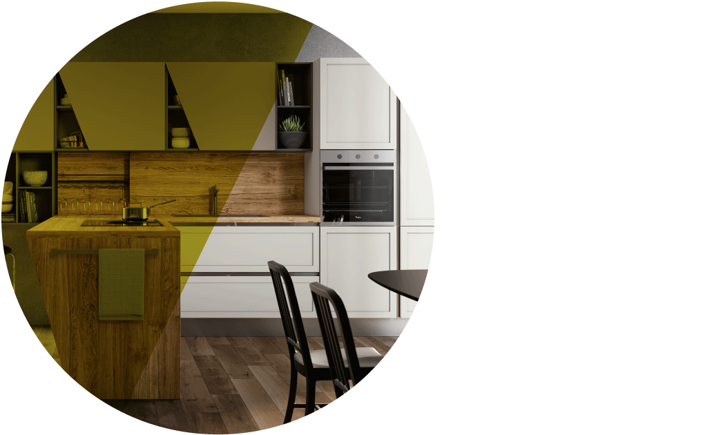 Copertina articolo cucina moderna romantica