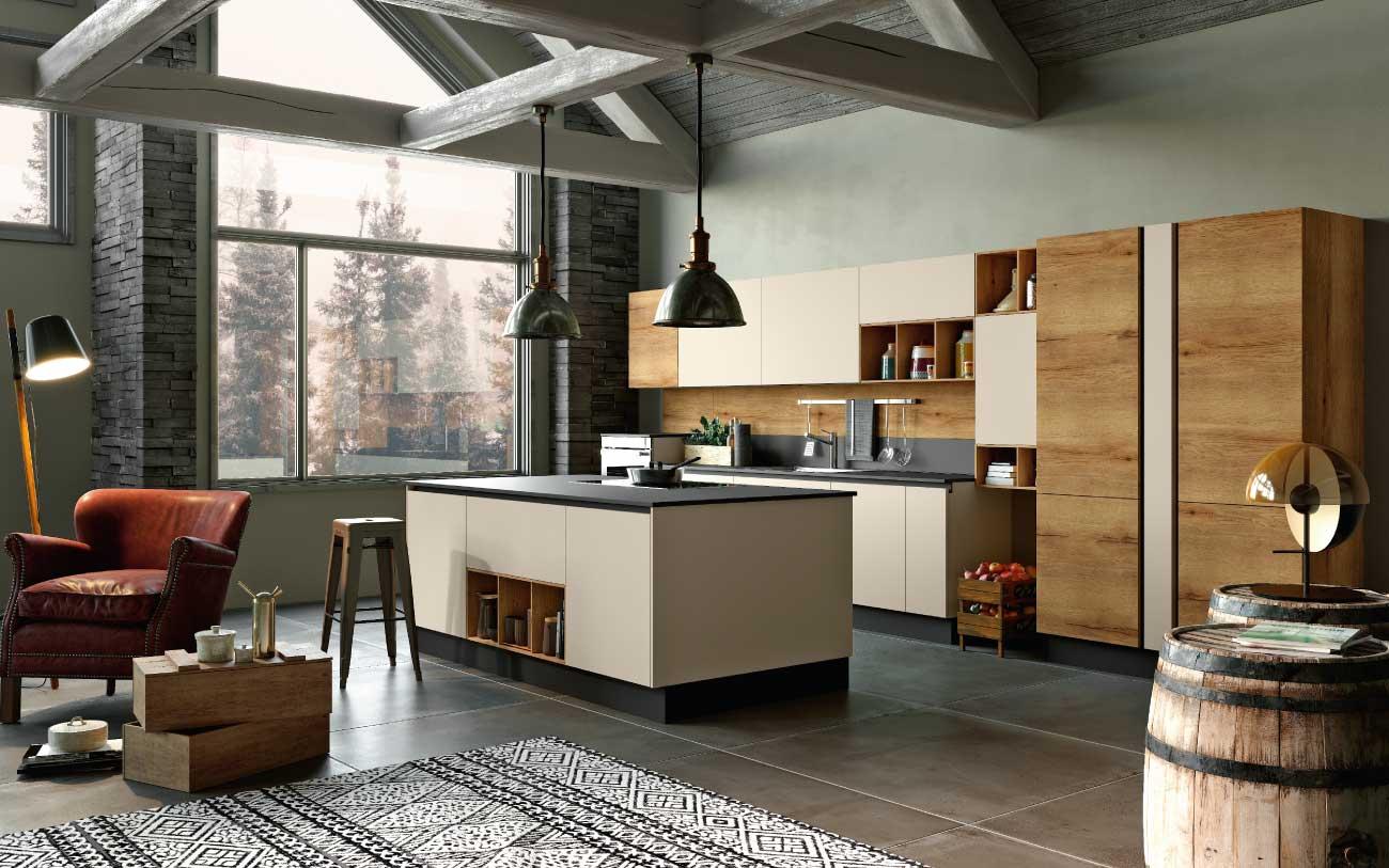 Cucina moderna con isola dm0615 pensarecasa - Pensarecasa rimini ...