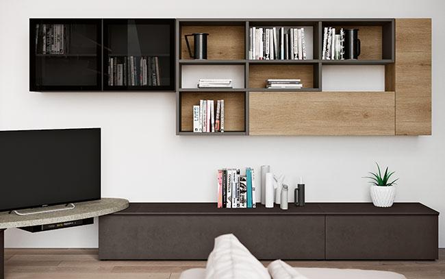 Soggiorni moderni keidea arreda mobili lariano