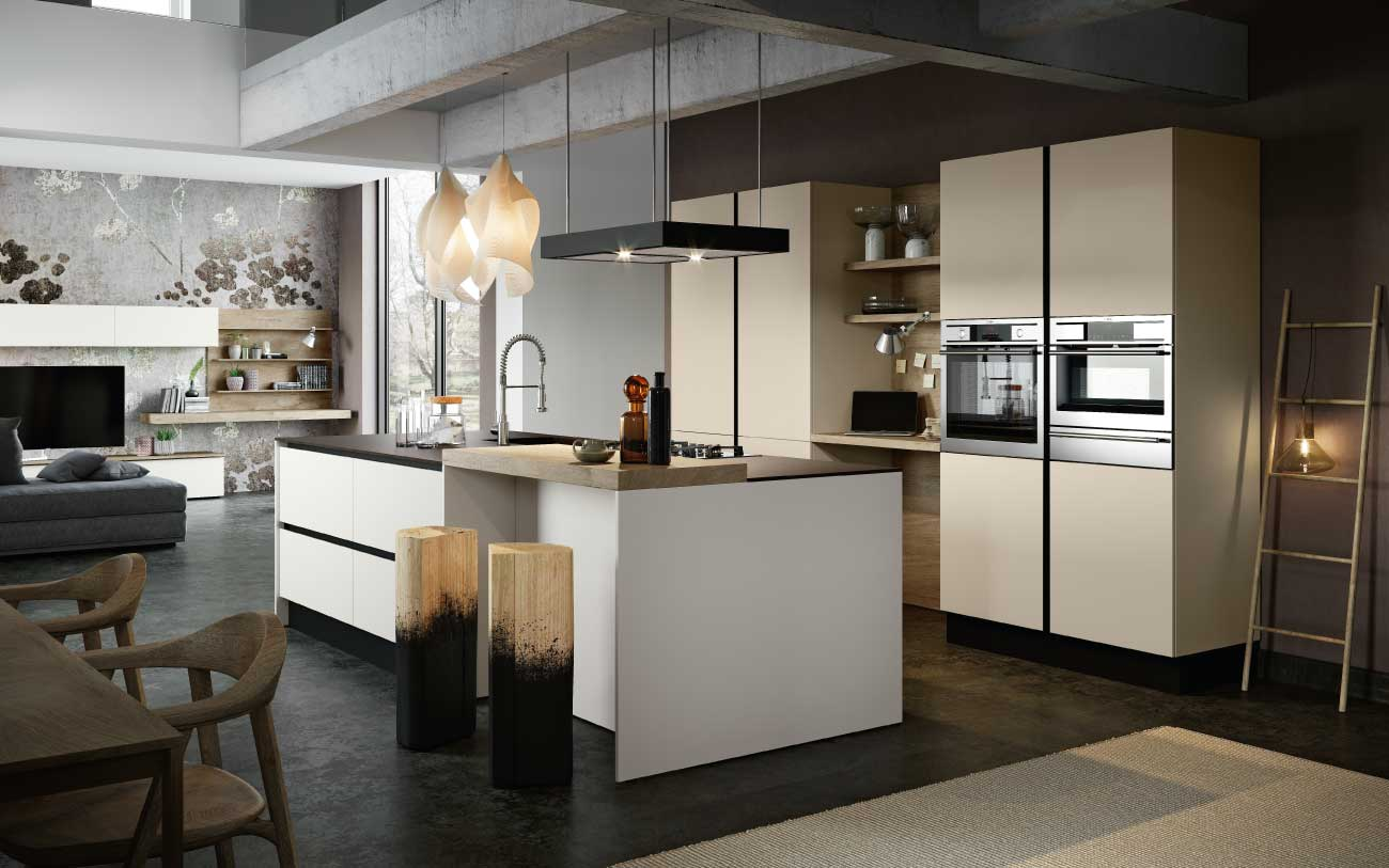 Come arredare un open space moderno pensarecasa for Cucine soggiorni