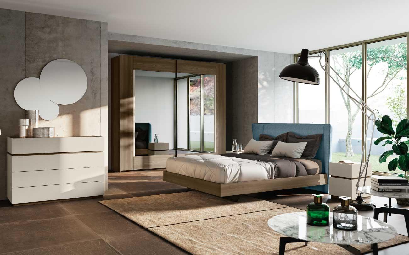 Camera da letto moderna: curata e multifunzionale