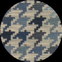 Rivestimento tessuto Pied-de-poule blu