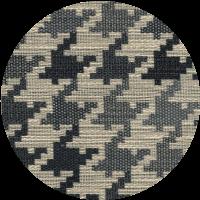 Rivestimento tessuto Pied-de-poule grigio