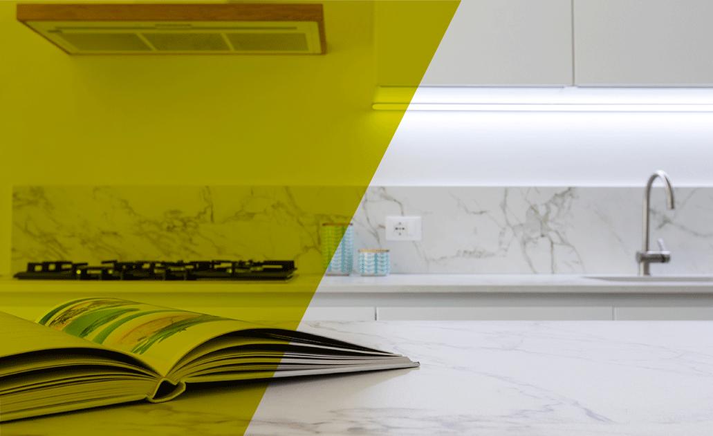 Piano Di Lavoro Cucina Altezza.Top Cucina Consigli E Guida Completa Ai Materiali 2019 Pensarecasa