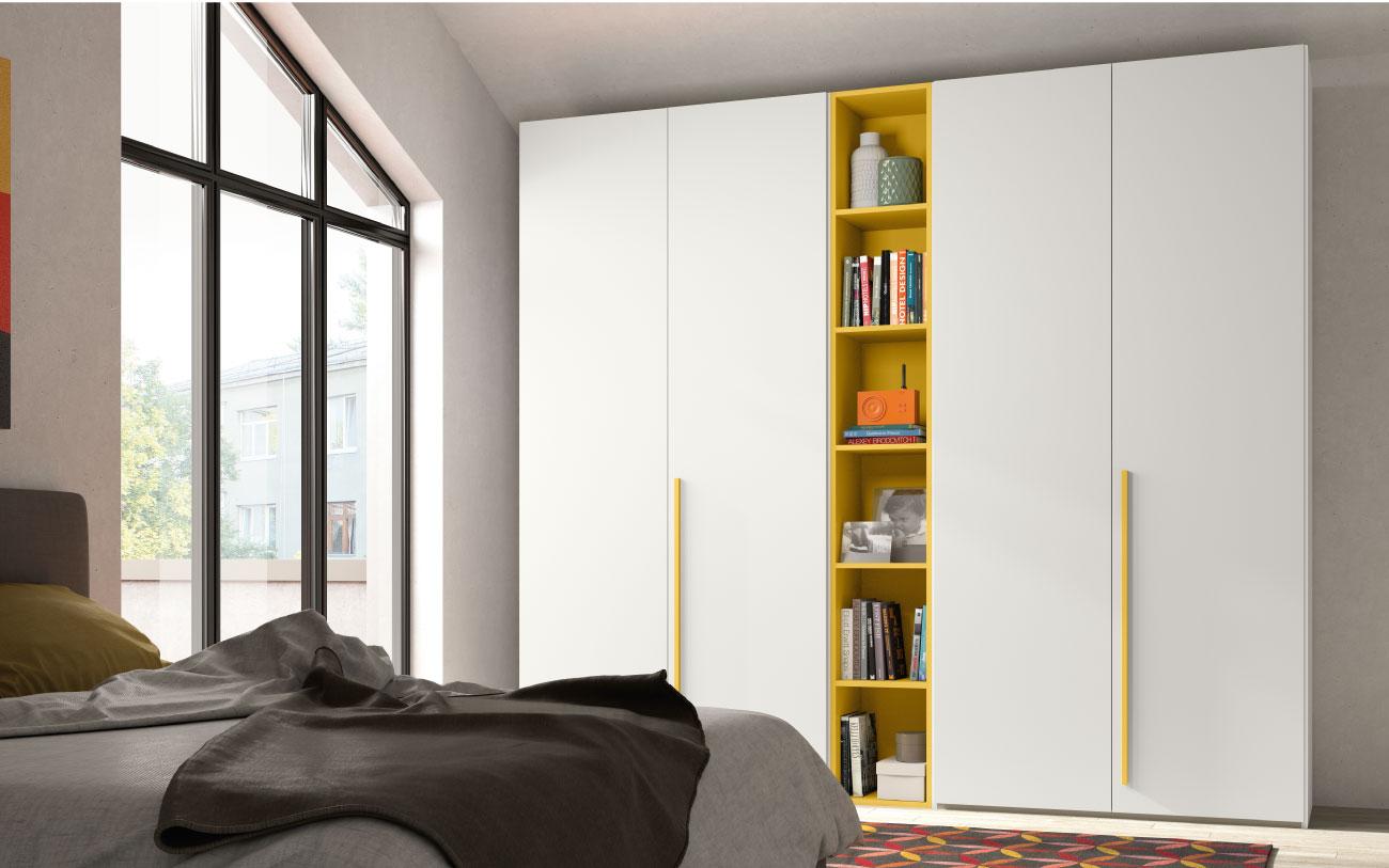 rcm040 armadio anta battente libreria