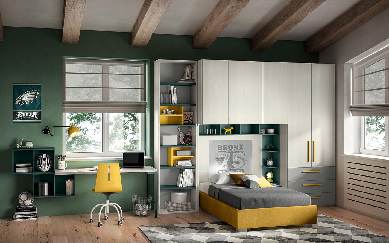 Camerette salvaspazio | Come combinare design e praticità