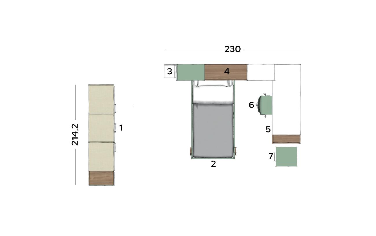 Planimetria cameretta VCJ011