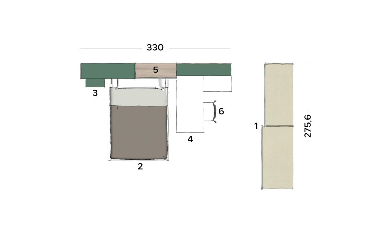 Planimetria cameretta VCJ012