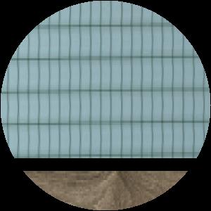 telaio Quercia vetro retinato