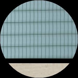 telaio rovere sbiancato vetro retinato