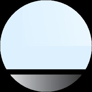 Telaio alluminio vetro acidato