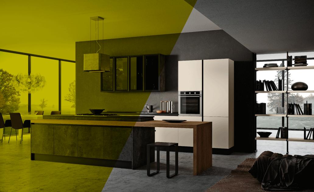 Cucina Moderna Nuova.Cucina Living Moderna Scopri La Nuova Collezione 2019 2020