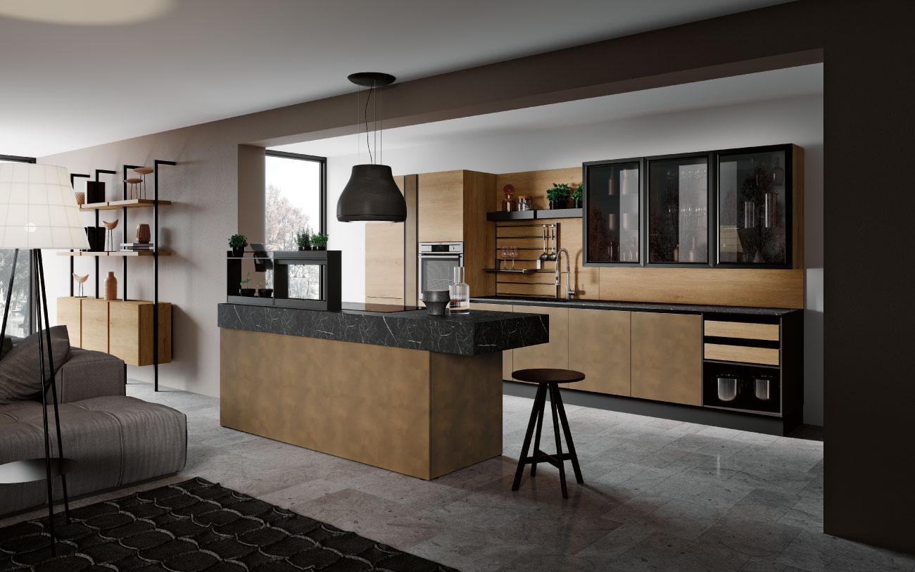Cucina living moderna, scopri la nuova collezione 2019/2020 ...