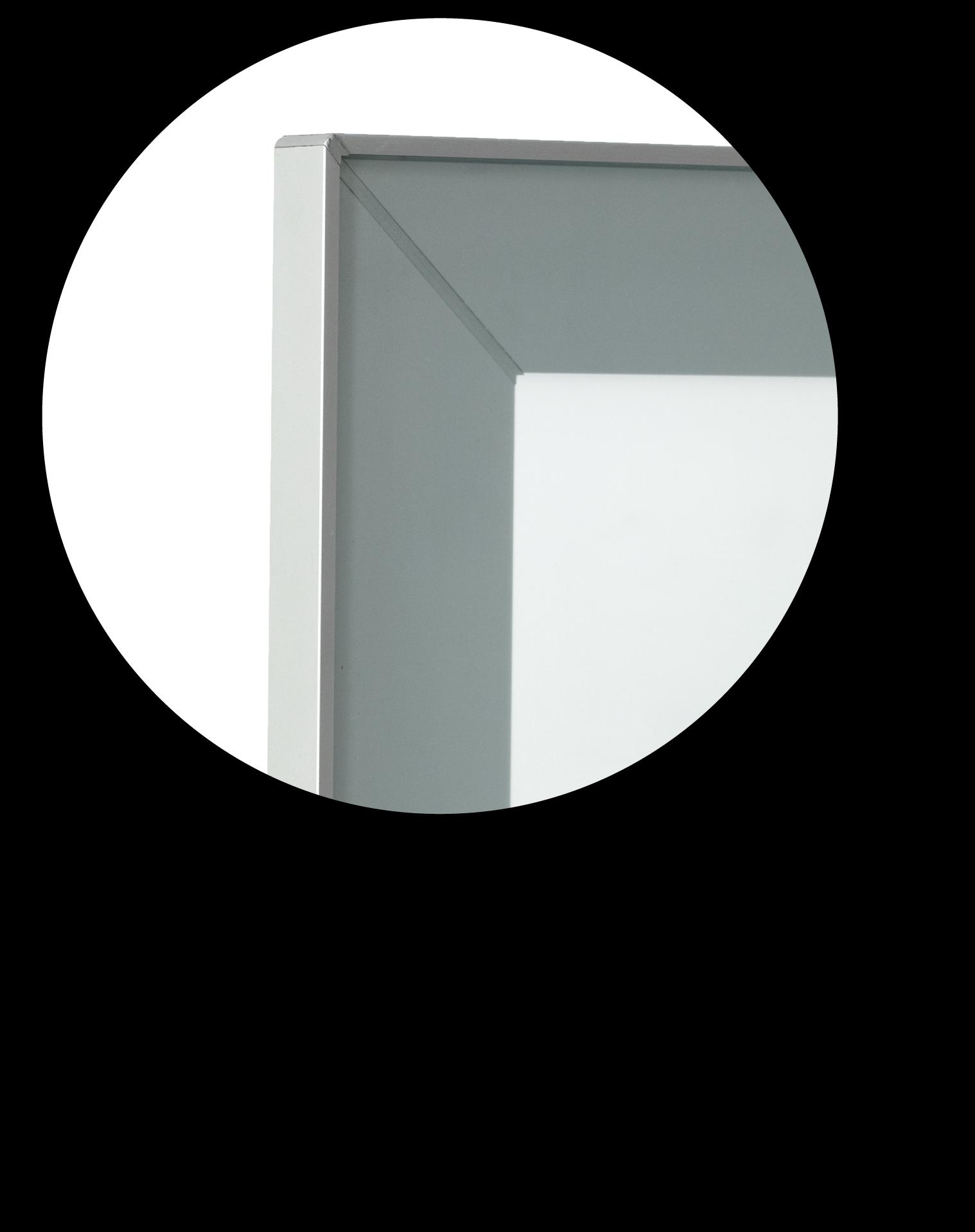 Anta alluminio vetro acidato