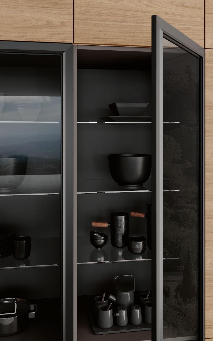DM0665_immagine_cucina con penisola particolare colonne