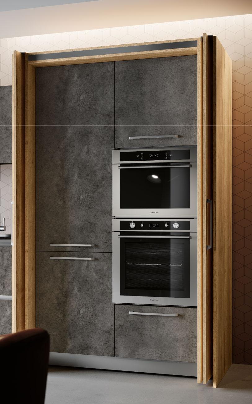 DM0663 immagine cucina lineare particolare complanare