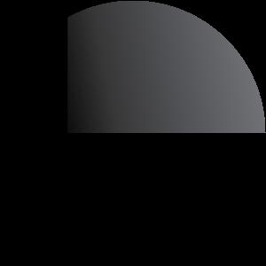 Telaio nero vetro fumè