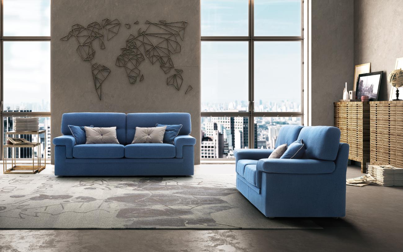 AVATAR divano in tessuto 3 posti
