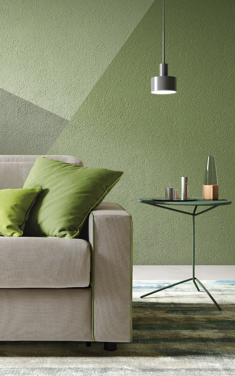 BARBADOS divano letto in tessuto 3 posti maxi particolare1
