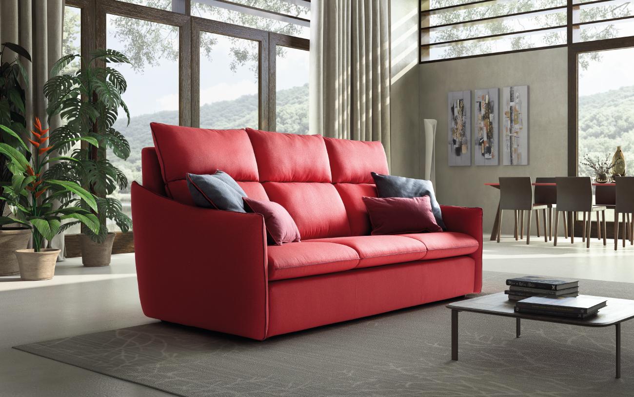 HELEN divano in tessuto 3 posti maxi